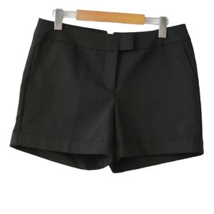 Harve Benard Flat Front Cuffed Hem Mid Rise Shorts